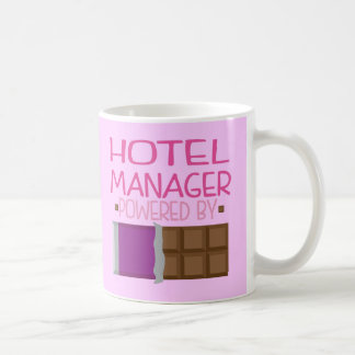 Hotel Manager Chocolate Gift for Her Coffee Mug