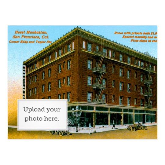 Hotel Manhattan Postcard