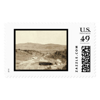 Hotel Minnekahta Hot Springs SD 1889 Stamps