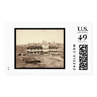 Hotel Minnekahta in Hot Springs SD 1889 Postage