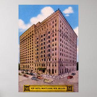Hotel Monteleone de New Orleans Luisiana Poster