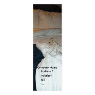 Hotel - motel - señal de B&B Tarjetas De Visita Mini