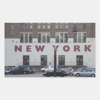Hotel New York, Rotterdam Rectangular Sticker