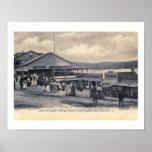 Hotel, Nolan's Point, Lake Hopatcong, NJ Vintage Poster