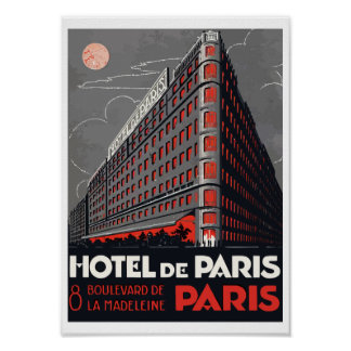 Hotel of Paris (Paris) Poster