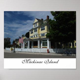 Hotel on Mackinac Island print