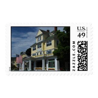 Hotel on Mackinac Island stamp