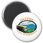 hotel-on-wheels magnet