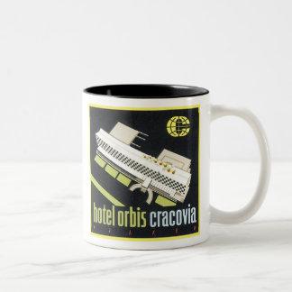 Hotel Orbis Cracovia Two-Tone Coffee Mug