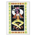 Hotel Orbis Travel Poster Card