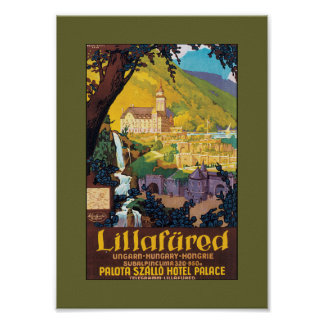 Hotel Palota Lillafured, Hungary Poster