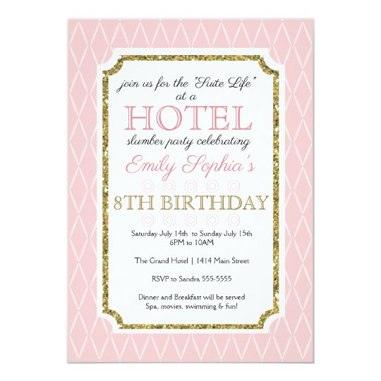 Hotel Party Invitation