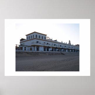 Hotel Playa de la Luz, Rota, Spain. Poster