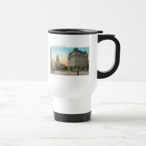 Hotel Plaza, New York City 15 Oz Stainless Steel Travel Mug