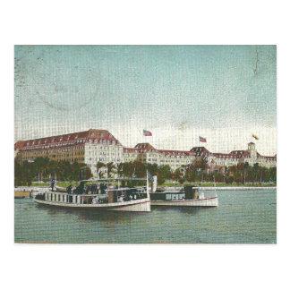 Hotel Poinciana real. Palm Beach, la Florida 1920 Postal