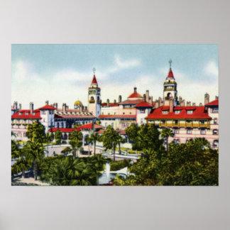 Hotel Ponce De León de St Augustine la Florida Impresiones