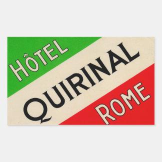 Hotel Quirinal Rome Italy Sticker