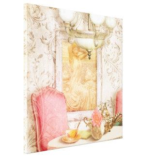 Hotel Regina, 1900 Paris Tearoom stretched canvas Gallery Wrap Canvas