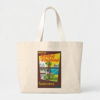 Hotel Reina Cristina ~ Algeciras Large Tote Bag