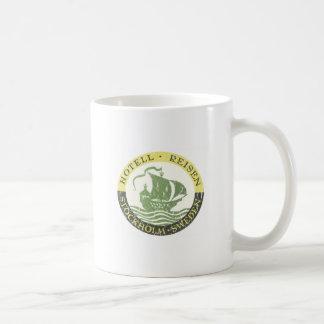 Hotel Reisen - distressed Coffee Mug