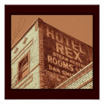 Hotel Rex Posters