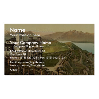Hotel Rigi Kulm and the Alps, Rigi, Switzerland vi Double-Sided Standard Business Cards (Pack Of 100)