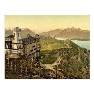 Hotel Rigi Kulm and the Alps, Rigi, Switzerland vi Postcard