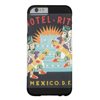 Hotel Ritz Mexico Vintage Ttravel Poster Artwork Barely There iPhone 6 Case
