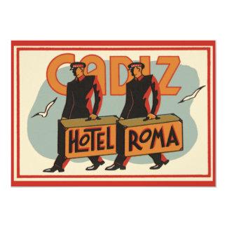 Hotel Roma, Cádiz, España de los Bellhops del Anuncio Personalizado