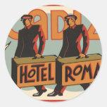 Hotel Roma, Cádiz, España de los Bellhops del viaj Pegatina