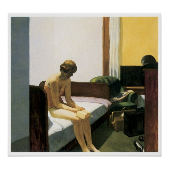 Hotel Room, Edward Hopper Poster