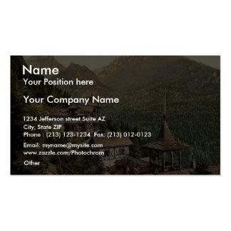 Hotel Rosa in the Great Kohlbacherthal, Tatra, Aus Business Card Templates