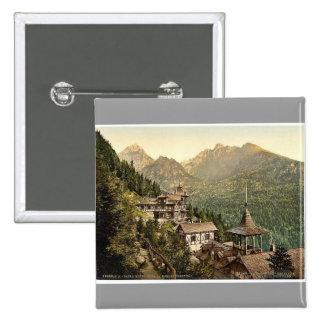 Hotel Rosa in the Great Kohlbacherthal, Tatra, Aus Pins