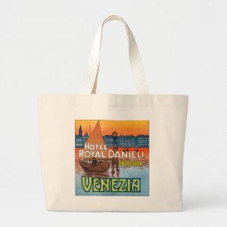 Hotel Royal Danieli Venezia Large Tote Bag
