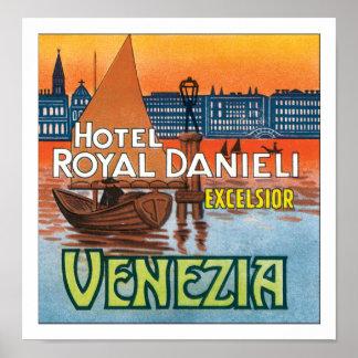 Hotel Royal Danieli Venezia w/o border Poster