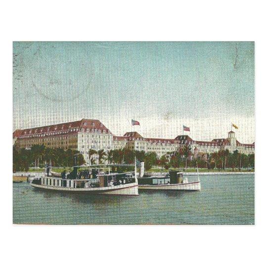 Hotel Royal Poinciana. Palm Beach, Florida 1920 Postcard