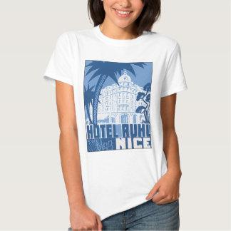 Hotel Ruhl Nice Vintage Travel Poster T-Shirt