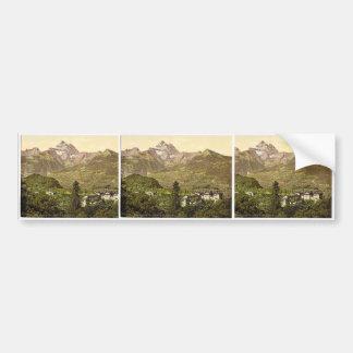 Hotel, Salines and Villa des Bains, Bex, Vaud, Can Bumper Stickers