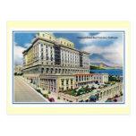 Hotel San Francisco CA de Fairmont del vintage Postales
