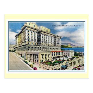 Hotel San Francisco CA de Fairmont del vintage Tarjeta Postal