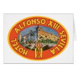 Hotel Sevilla de Alfonso XIII Felicitaciones