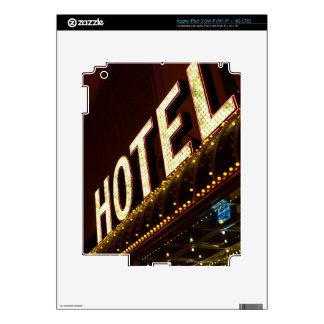 Hotel sign, Las Vegas, Nevada iPad 3 Skin