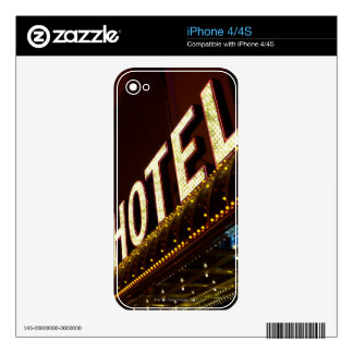 Hotel sign, Las Vegas, Nevada Skins For iPhone 4S
