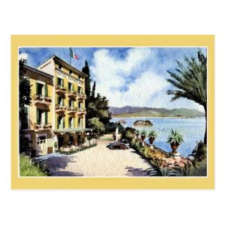 Hotel Simplon de Maggiore Stresa del lago Tarjeta Postal