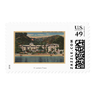 Hotel St. Catherine in Santa Catalina, Californi Postage