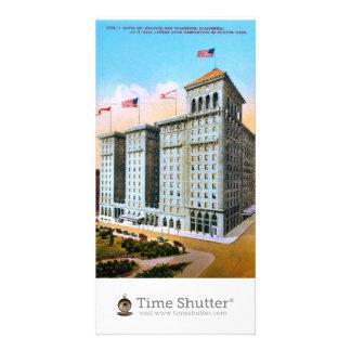 Hotel St Francis Customized Photo Card