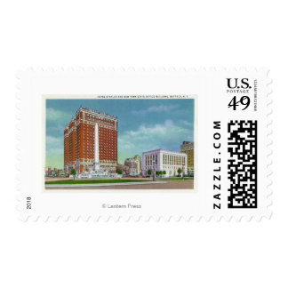 Hotel Statler and NY State Office Bldg Postage