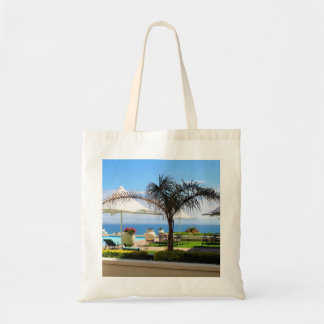 Hotel Swimming Pool and Gardens Tote Bag