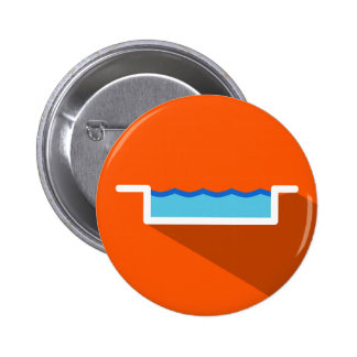 Hotel Swimming Pool Icon Button