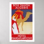 Hotel Transatlantique Bou Saada Poster